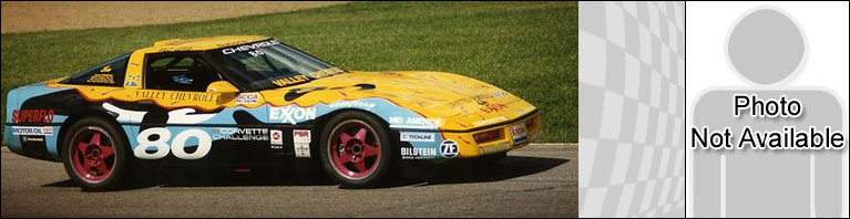 Corvette Challenge Car #80 - driven by  Willy Lewis