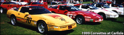 1988 Corvette Challenge Car Series - Corvette Dymag Wheels