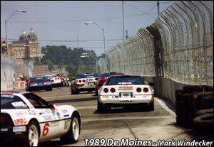 C4 Corvette Race Cars